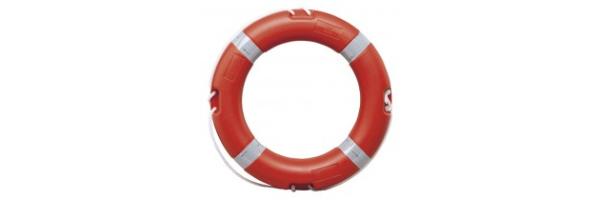 Rettungsringe, MOB, Überlebensanzug...