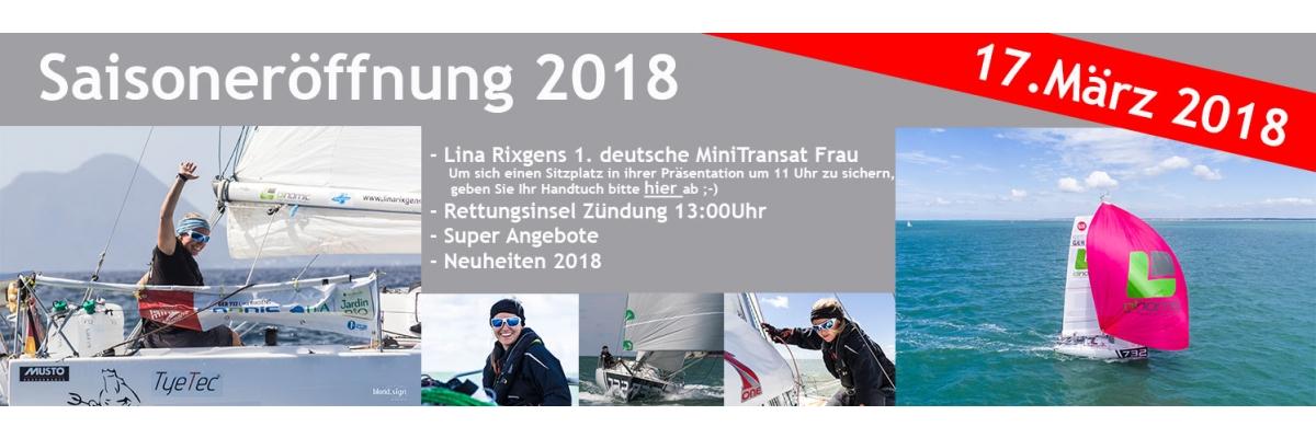 Saisoneröffnung 2018 mit Lina Rixgens - Saisoneröffnung 2018 mit Lina Rixgens