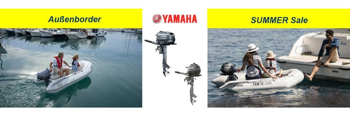 Motoren Sale - Yamaha Außenborder SummerSale