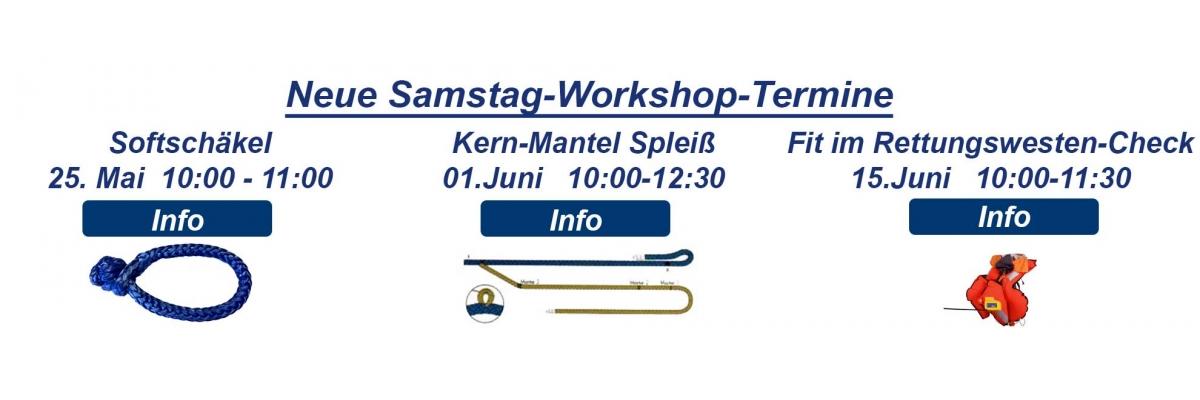 Samstag Workshop Angebote - Samstag Workshop Angebote