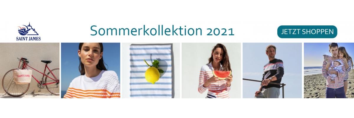 SAINT JAMES - Sommerkollektion 2021  - SAINT JAMES Sommerkollektion 2021