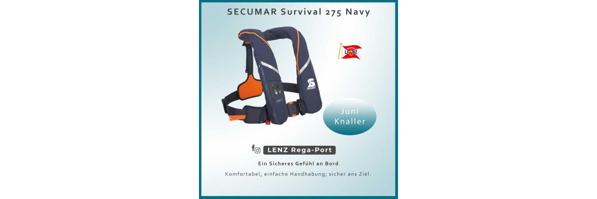 Juni Knaller - SECUMAR Survival 275 navy - Juni Knaller - SECUMAR Survival 275 navy