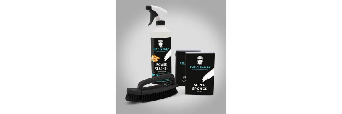 The Cleaner ist ein hochwirksames, aber nicht aggressives Reinigungsmittel. - The Cleaner ist ein hochwirksames, aber nicht aggressives Reinigungsmittel.