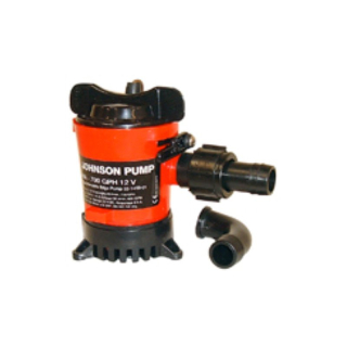 Johnson Bilgenpumpe Bilgepumpe 1000 GPH/12V