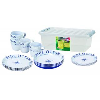 Blue Ocean Geschirrset 16-teilig