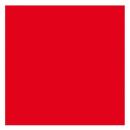 "Notflagge rot 60x60cm ""Binnen""-Revier"