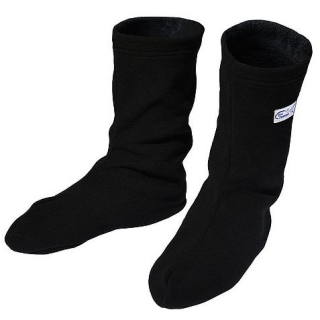 Dry Fashion Fleece Socken schwarz