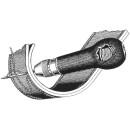 Handnähahle mit Holzgriff  (incl. 1 Spule Garn)