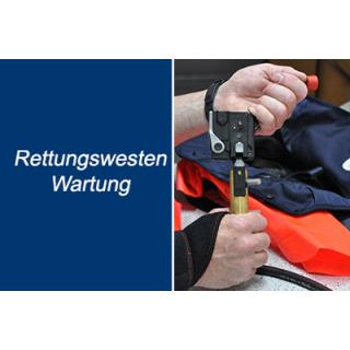 Rettungswesten-Wartung