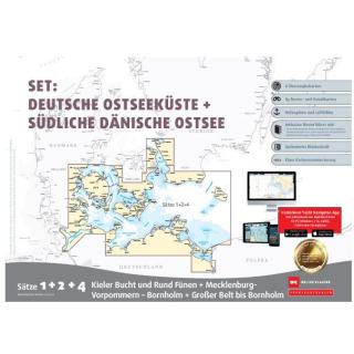 SBK Set Deutsche Ostseeküste + Südliche Dänische Ostsee