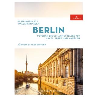 Planungskarte Wasserstraßen Berlin