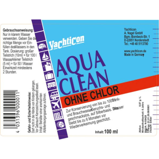 Aqua Clean AC 1000 -ohne Chlor- 100 ml