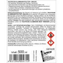 Aluminium Politur + Wachs 500 ml