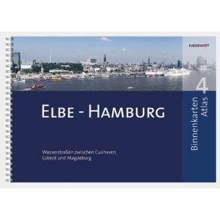 BINNENKARTEN ATLAS 4 | Elbe - Hamburg