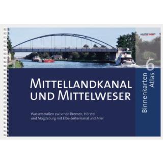 BINNENKARTEN ATLAS 6 | Mittellandkanal