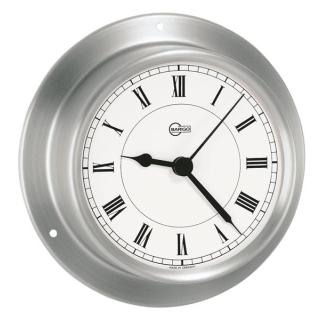 Uhr Edelstahl 110x32, 85mm Durchmesser