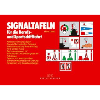 Signaltafeln rot / Sammlung