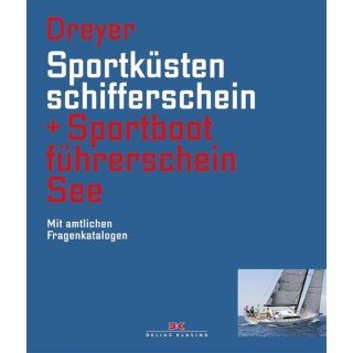 Sportküstenschifferschein & Sportbootführerschein See - Dreyer (blau)