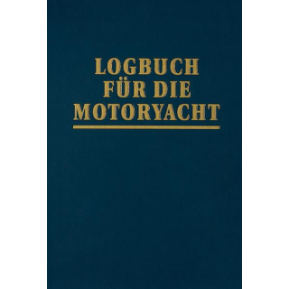 Logbuch für die Motoryacht